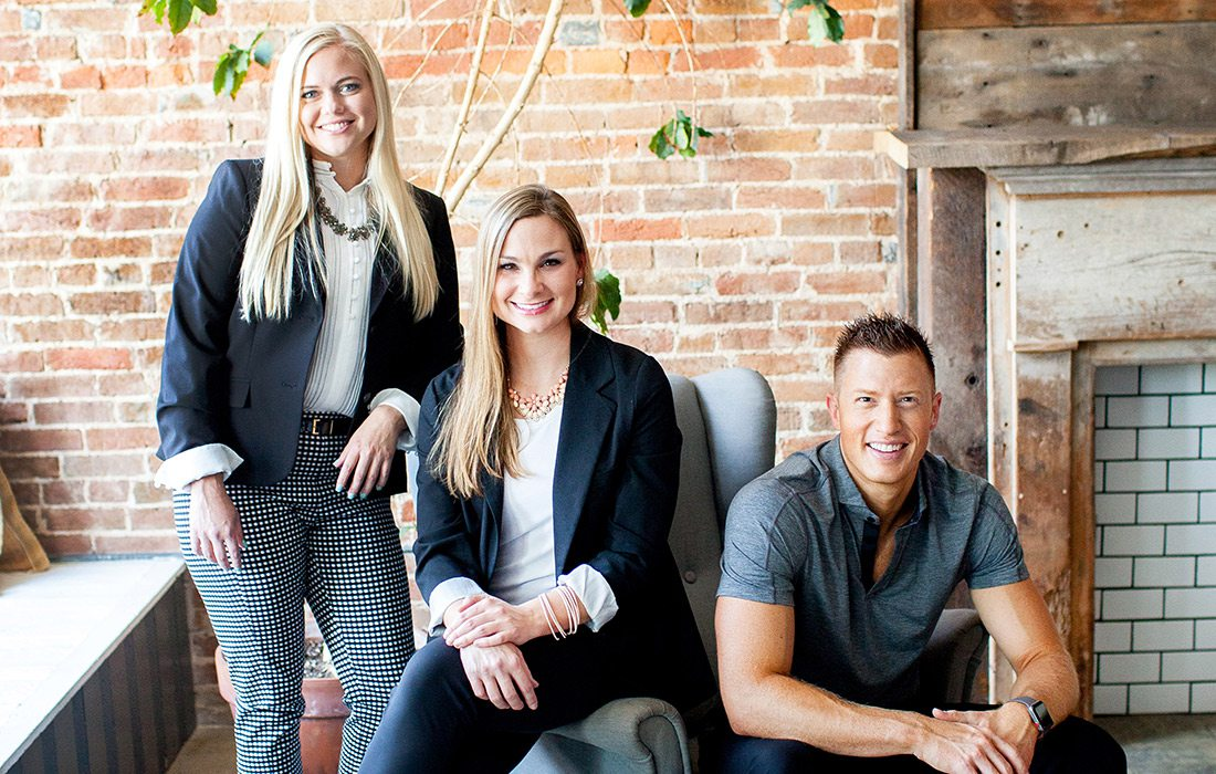 Taylor Jordan, DDS; Megan Westrich, DDS; Grant Olson, DDS of Innovative Dental in Springfield, Missouri