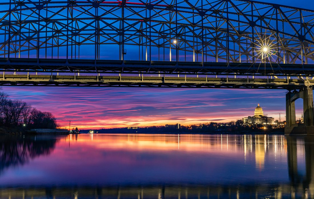 Jefferson City skyline