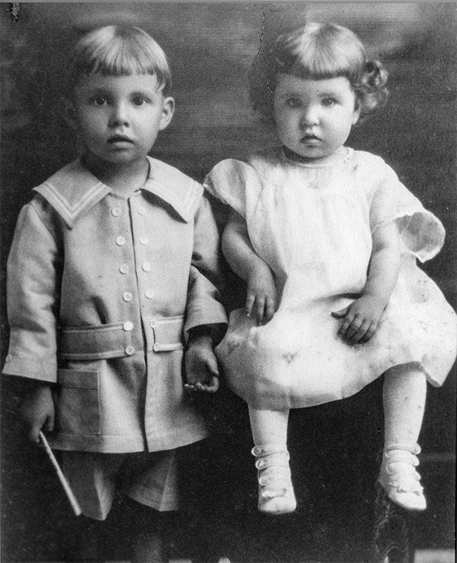 John Q. Hammons and his sister Wrenna Quentilla Hammons