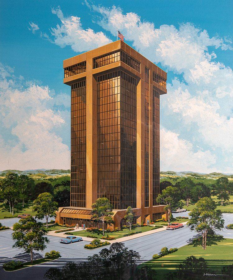 Hammons Tower Rendering