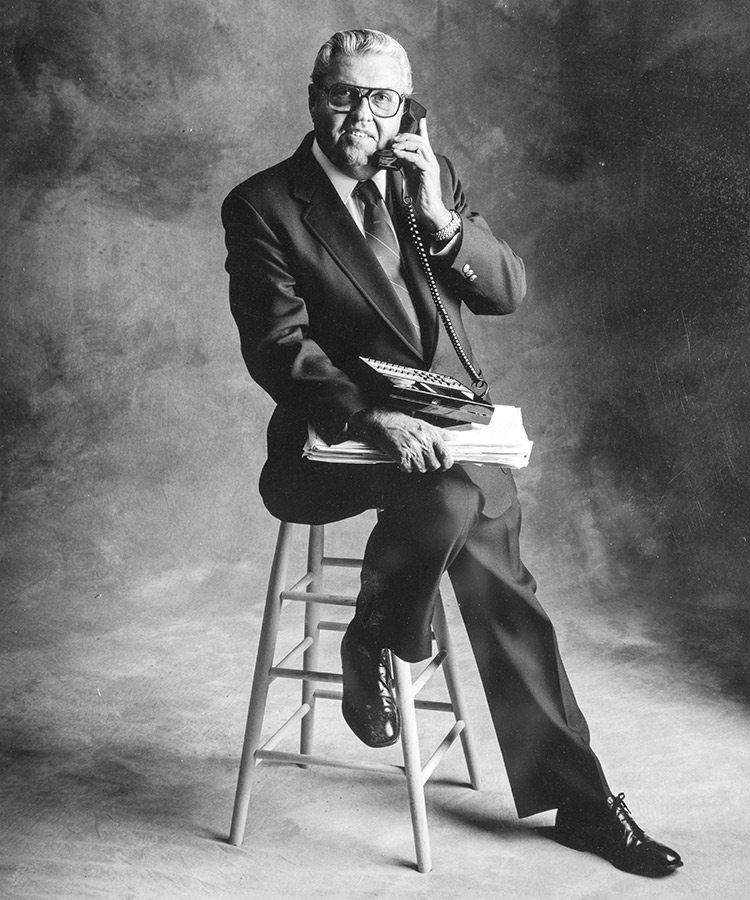 Portrait of John Q. Hammons