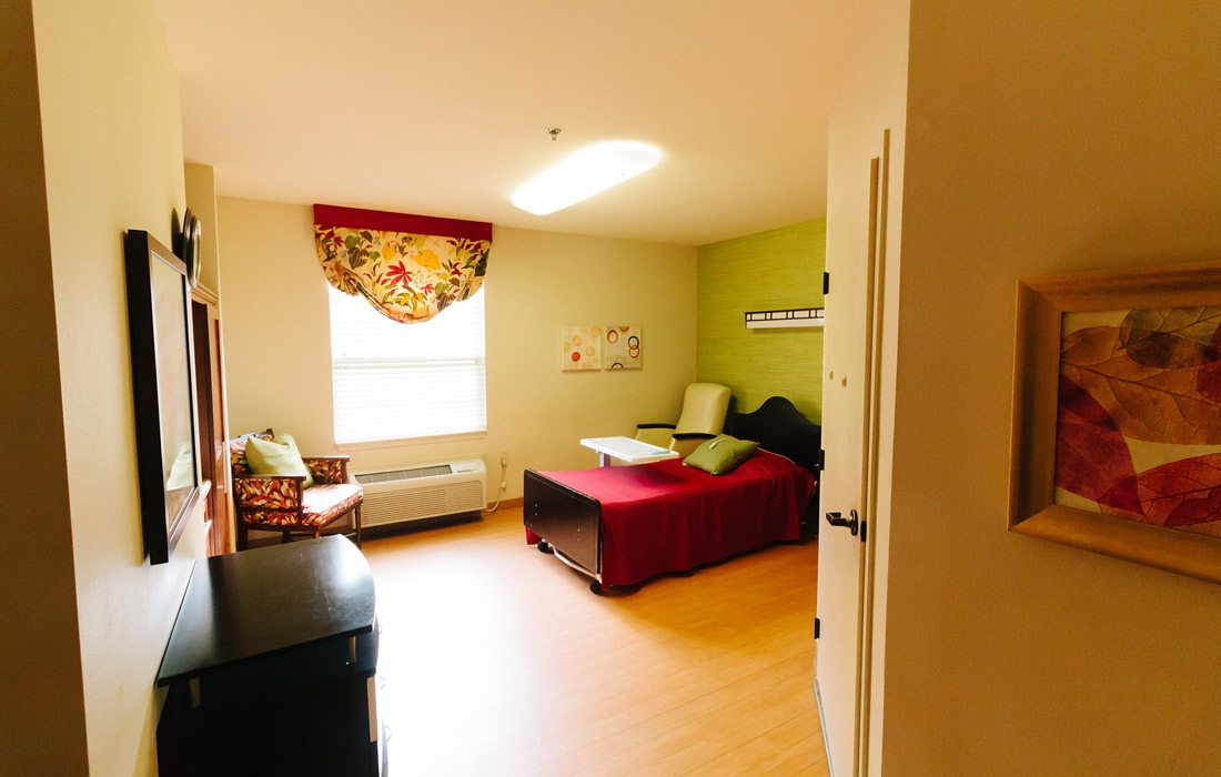 Interior photo from James River Nursing and Rehab