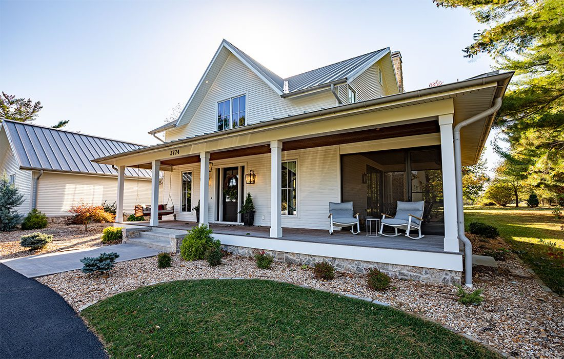 Exterior: Jamie Stauffer of Here Let Me design in Springfield MO