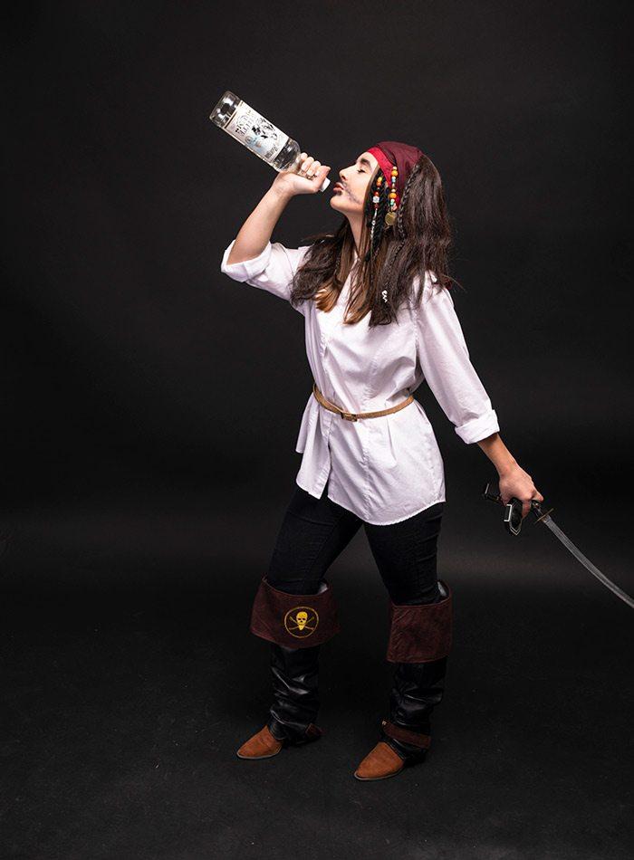 Jenna deJong as Jack Sparrow Halloween 2019