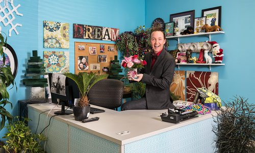 KOLR 10's Jeremy Rabe's Colorful Office