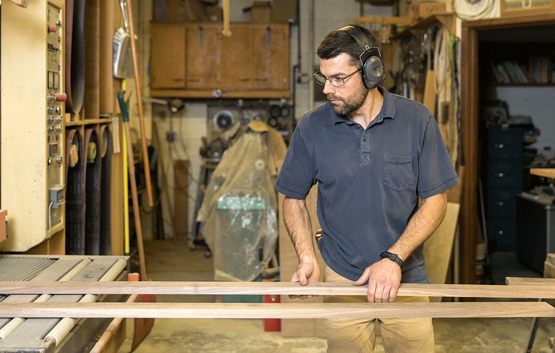 Jesse Kemp of Kemp Fine Woodworking