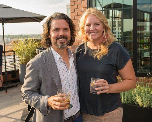 John McQueary: Developer and co-owner of Hotel Vandivort Karen McQueary: Designer and co-owner of Hotel Vandivort