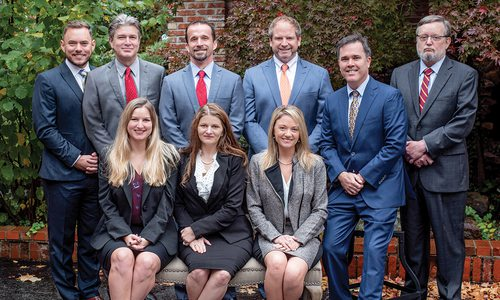 Employees of Johnson Vorhees and Martucci law in Springfield MO