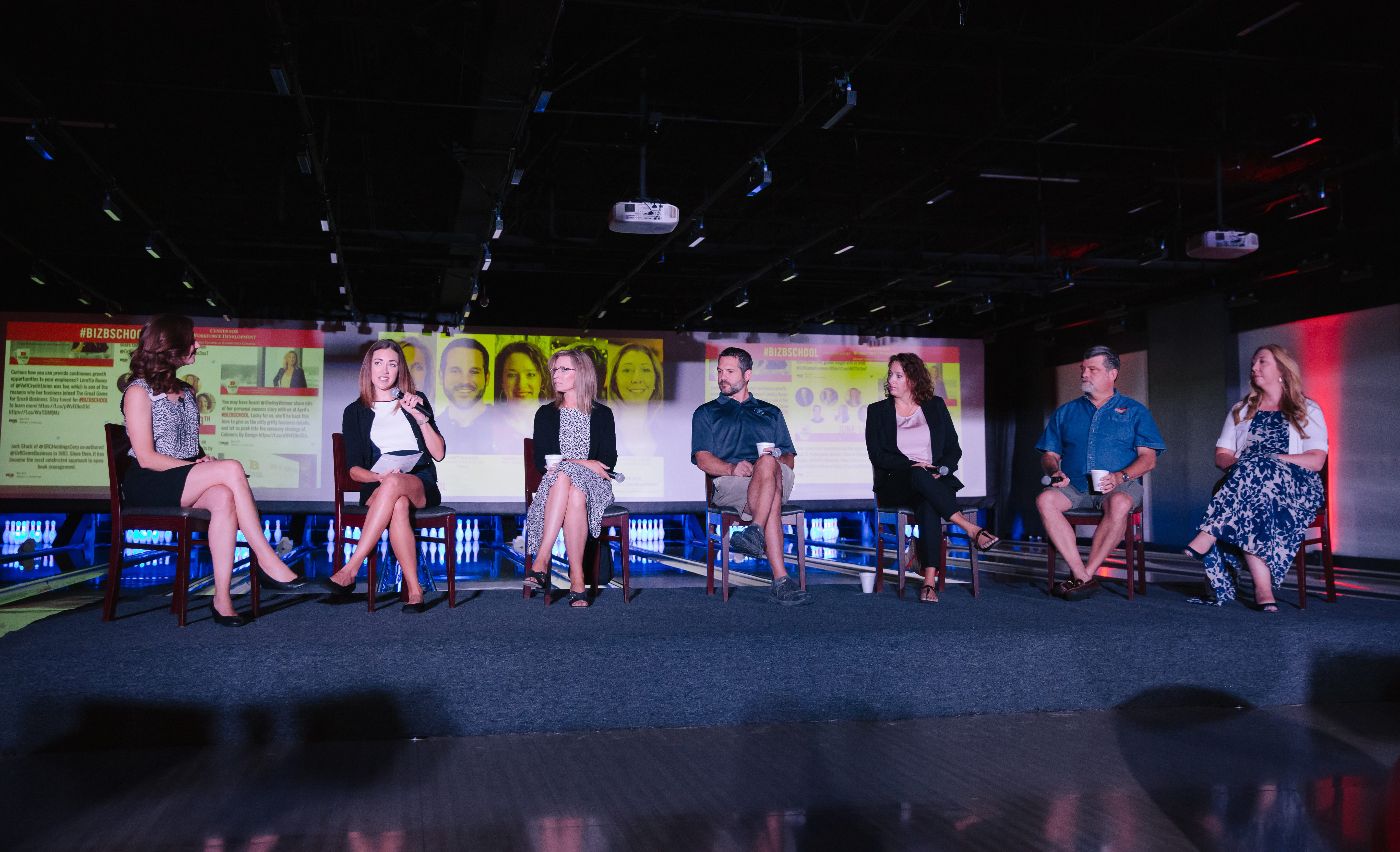 Executives from four local companies share their experiences of going through The Great Game for Small Business.
