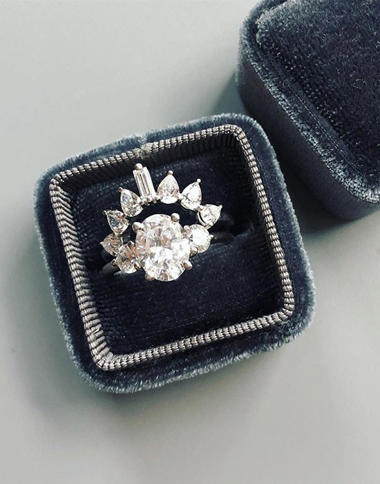 Wedding ring set from Justice Jewelers in Springfield MO