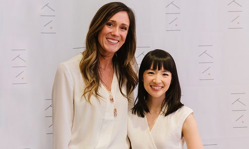 Kathryn Kelly and Marie Kondo