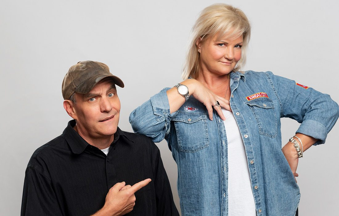 Kevin and Liz Morning Show headshot