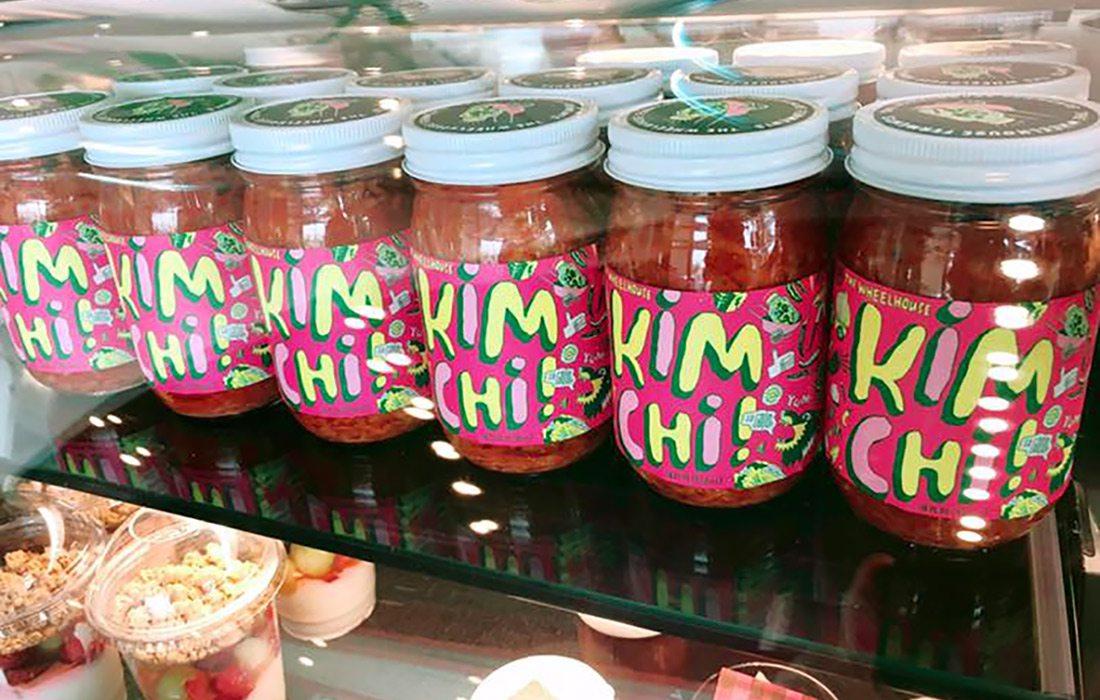 The Wheelhouse's Kimchi in store