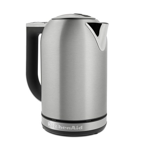 KitchenAid Electric Kettle & LED Display in White