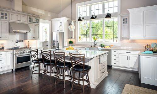 Bright kitchen remodel