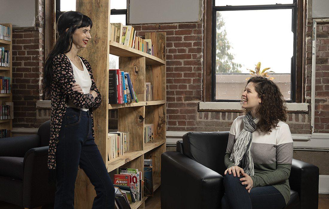 Krista Peryer and Maranda Provance of The Geek Foundation Springfield MO