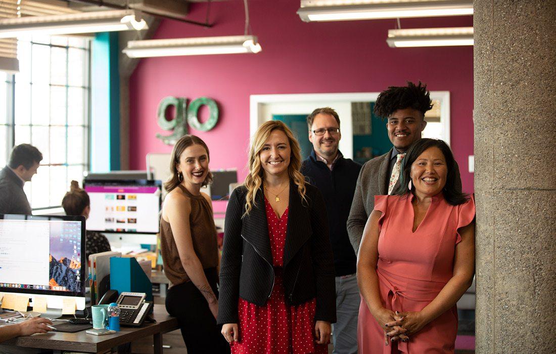 Little Bird Marketing team photo