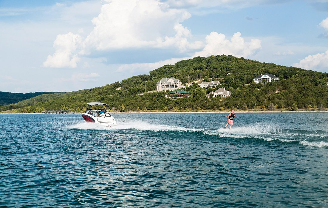 Wake Boarding at Table Rock Lake