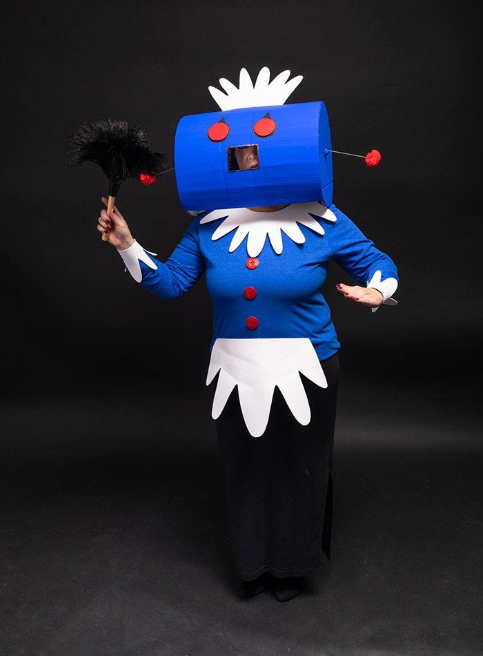 Landra Bunge as Rosie the Robot Halloween 2019