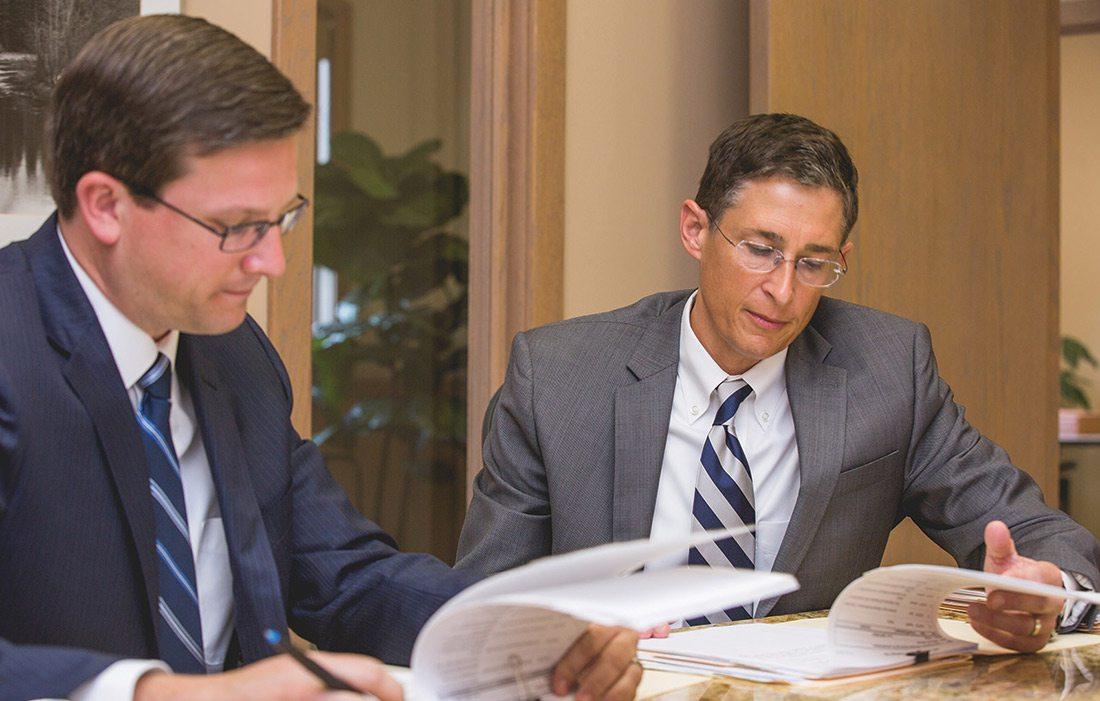 Brad Miller and Kurt Larson of Larson & Miller Law in Springfield MO
