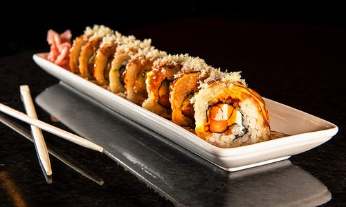 Las Vegas Roll from Hinode Japanese Steakhouse in Springfield MO