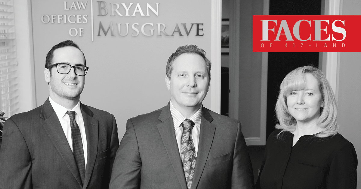 The Face of Personal Injury: Law Offices of Bryan Musgrave Springfield MO