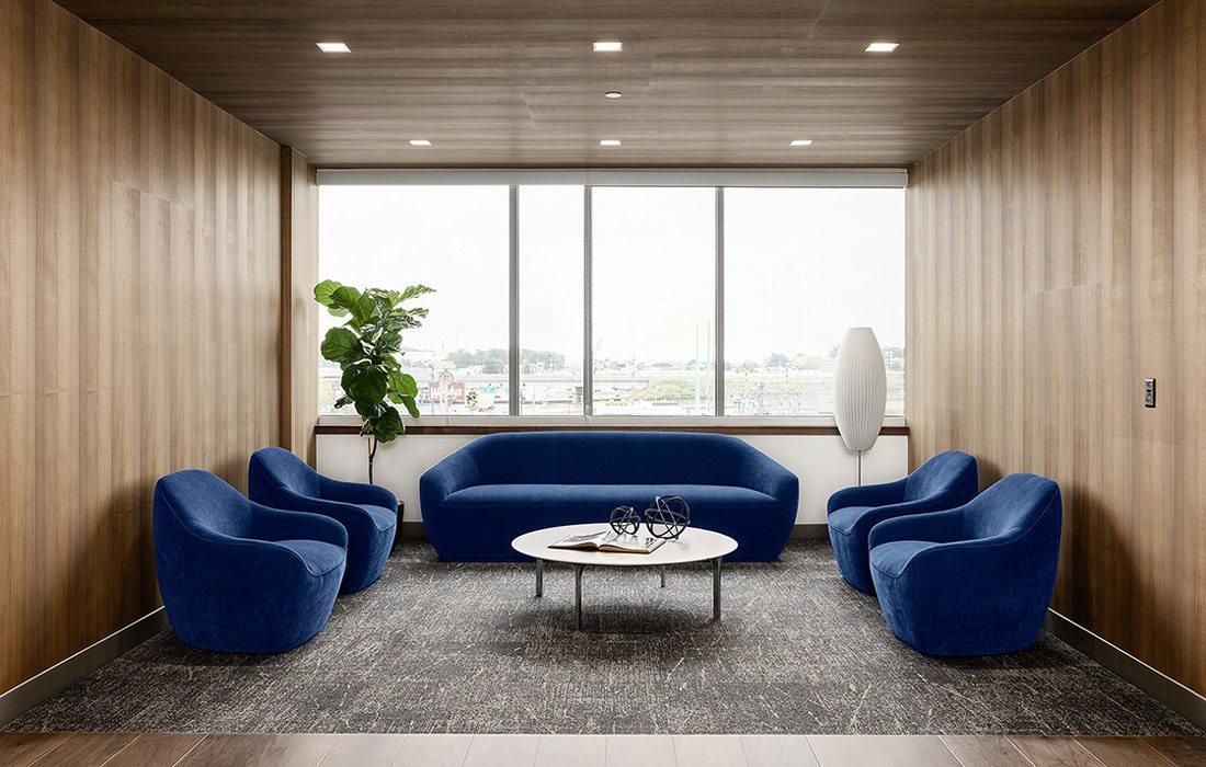 Legacy Bank interior redesign