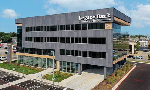 Legacy Bank exterior design