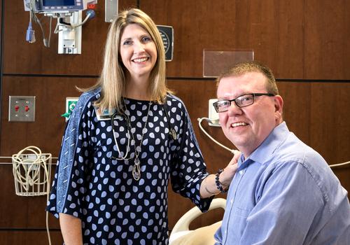 Dr. Leslie Hamlett Saved Greg Dagnan's Life