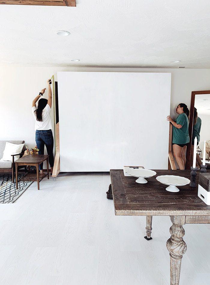 Interior backdrop at Lightbox.