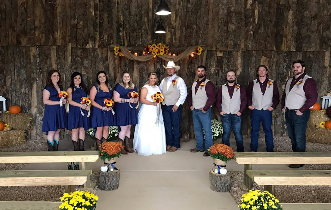Lil Boom Town Outdoor Ceremony Space Aurora MO