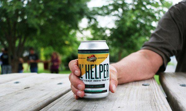 Canned version of Mother's Li'l Helper IPA