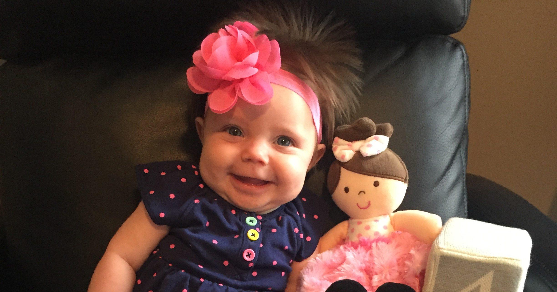 Lila-Ann Pfaff Cutest Baby Finalist