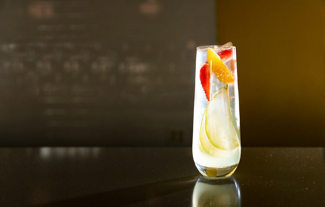 Lillet Spritz at cocktail