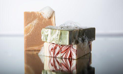 Goat milk soap from Windwood Farm