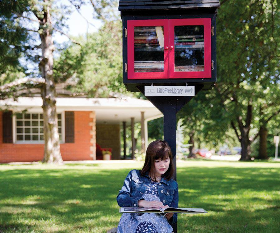Springfield-based Little Free Library