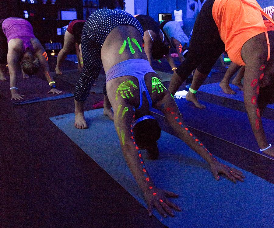 Buti Yoga at Live Pure Yoga.