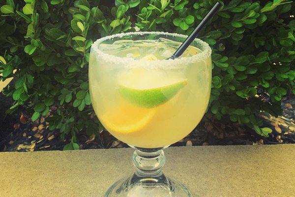 Mixed drink at Los Cabos