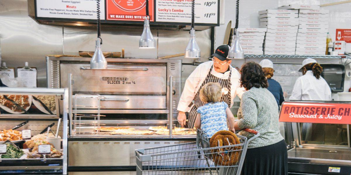 Lucky's Market butcher shop