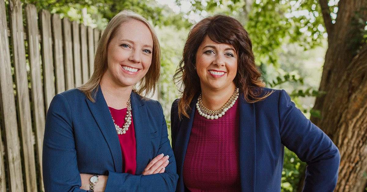 Attorneys Angela Myers and Danielle Kincaid of The Elder Law Group in Springfield MO