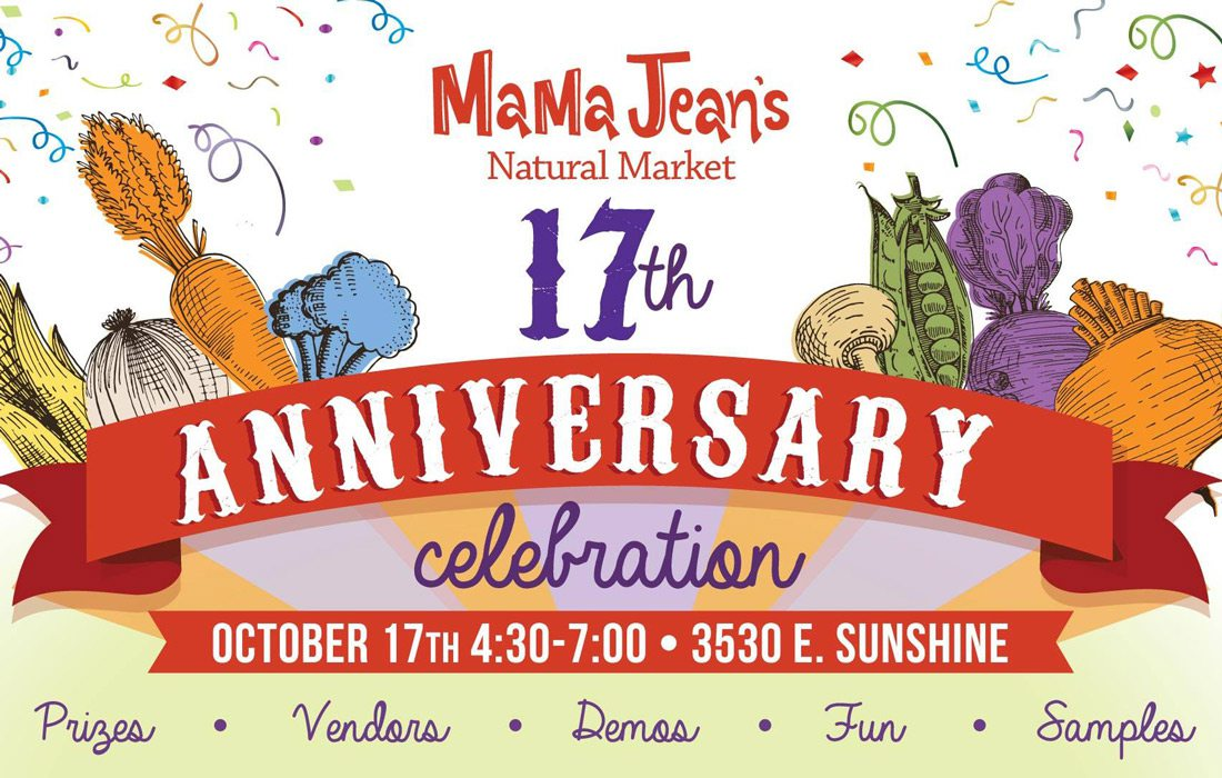 MaMa Jean's 17th Anniversary banner image