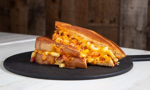 Mac Daddy grilled cheese at MacCheesy in Joplin, MO