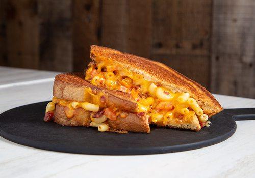 Mac Daddy grilled cheese at MacCheesy in Joplin, MO