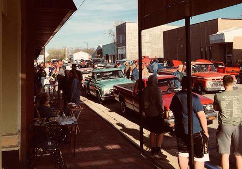Car Show in Golden City, MO