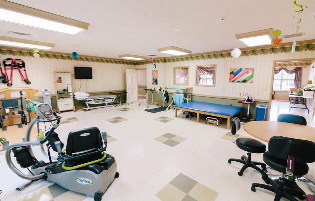 Gym at Magnolia Square Nursing & Rehab
