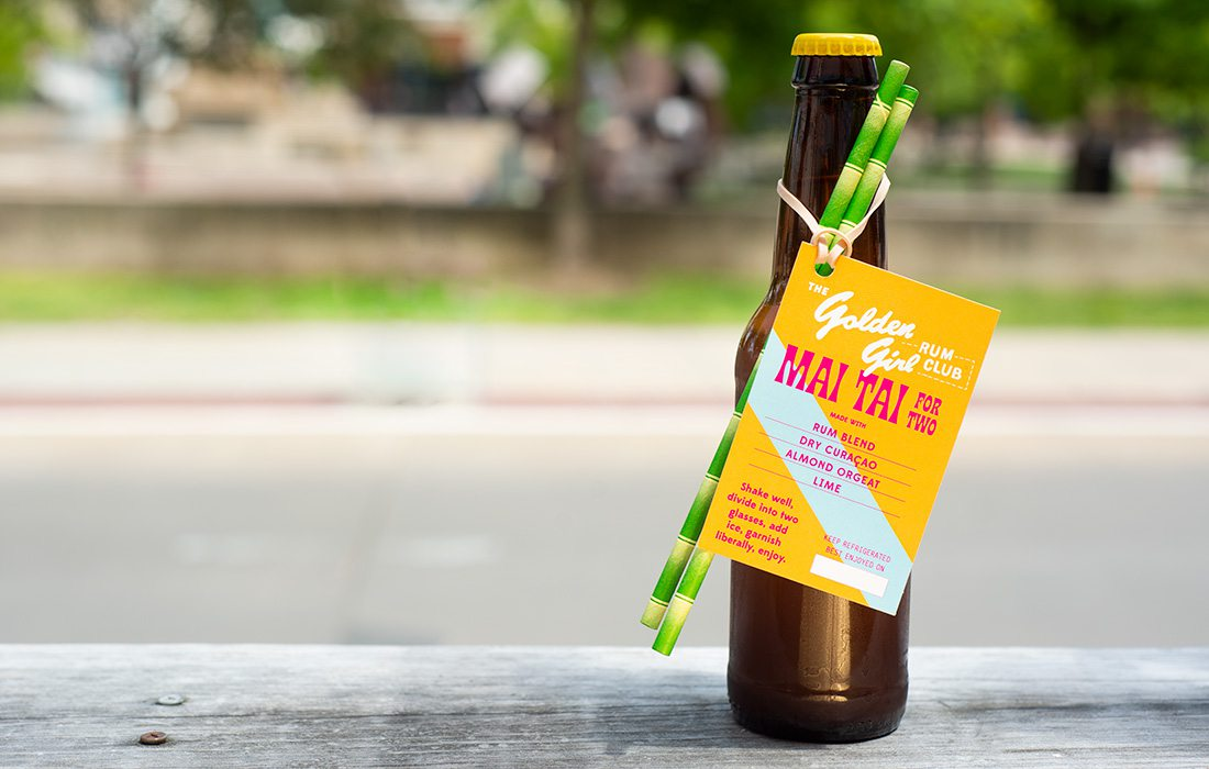 Mai Thai for Two Bottle from Golden Girl Rum Club in Springfield MO