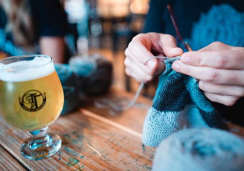 Tie & Timber beer and crafts