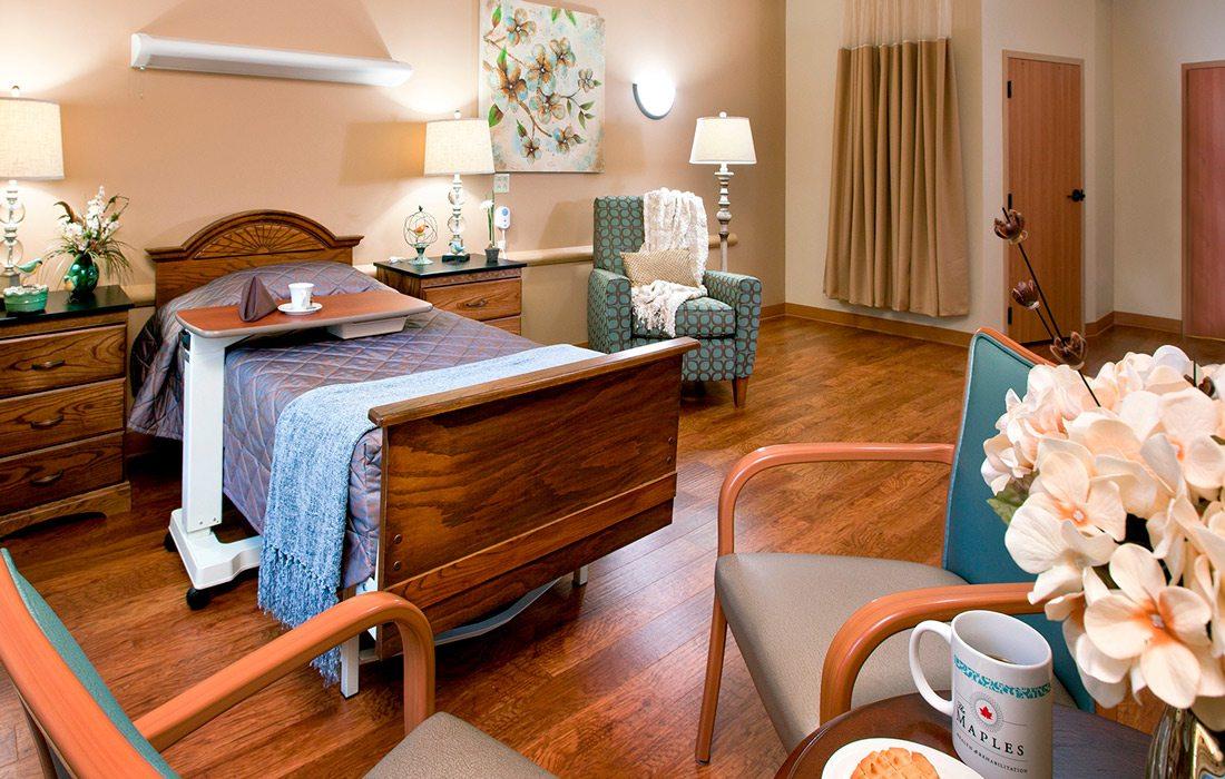 The Maples Health & Rehab interior photo