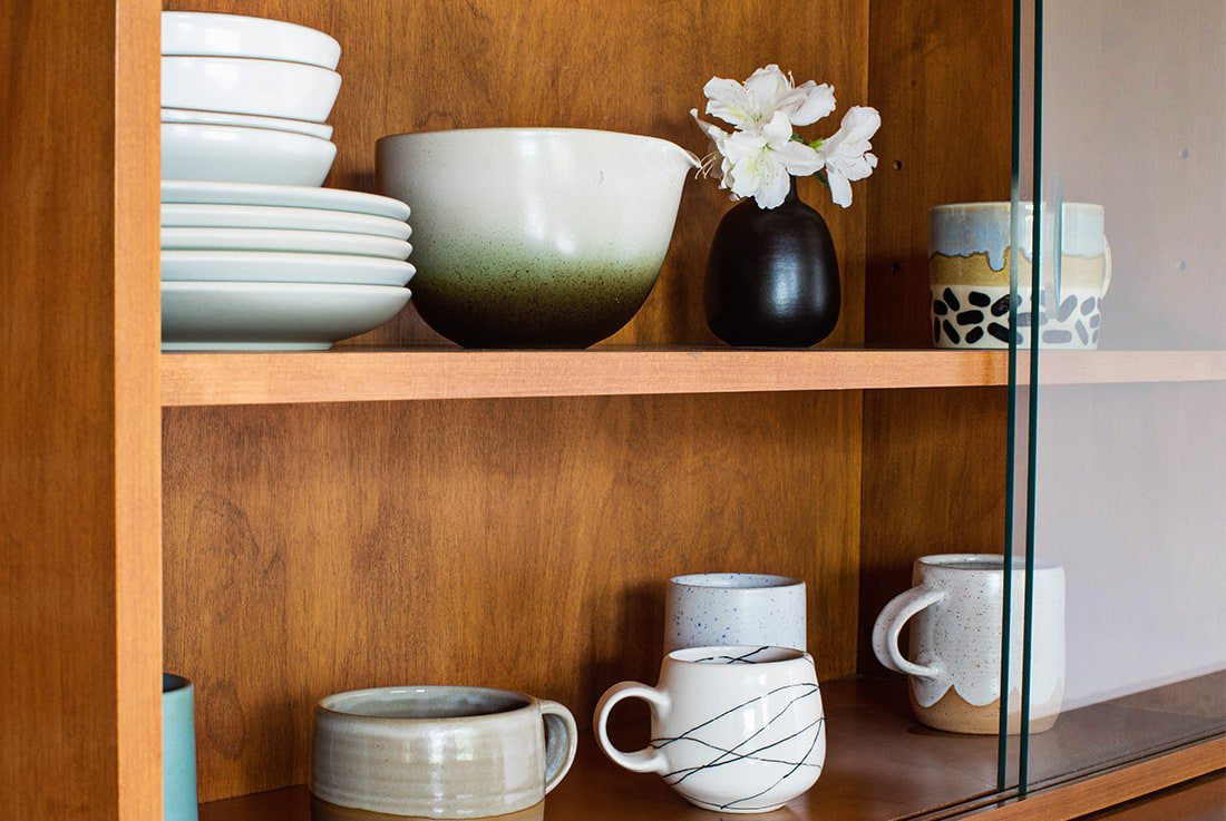 Home Trend To Try - handmade Ceramics for a personal touch to modern styling.