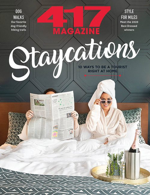 417 Magazine | Staycations | March 2020
